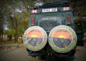 Our safari truck
