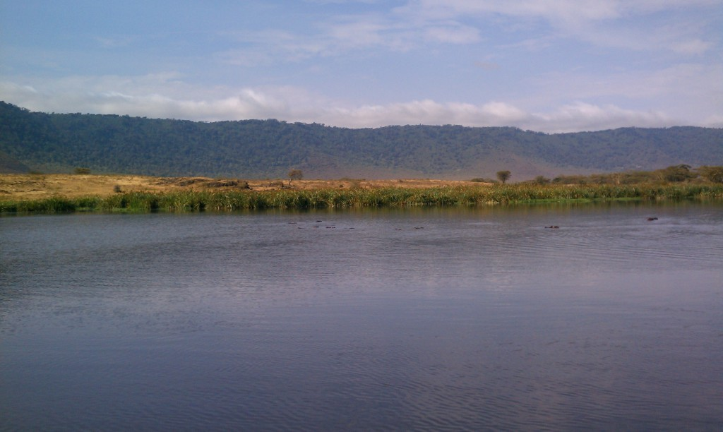 Lake in Ngorongoro Crater Tanzania | The Girl Next Door is Black