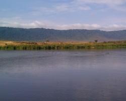 Lake in Ngorongoro