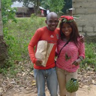 With my spice tour guide