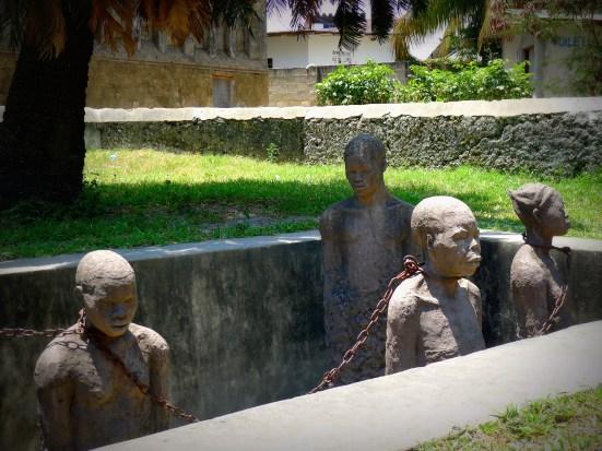 Slave memorial Stone Town Zanzibar | The Girl Next Door is Black