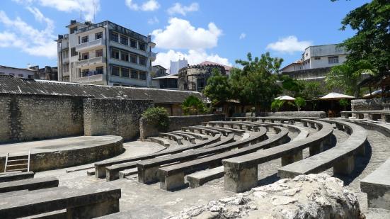 Ampitheatre Stone Town Zanzibar Tanzania | The Girl Next Door is Black