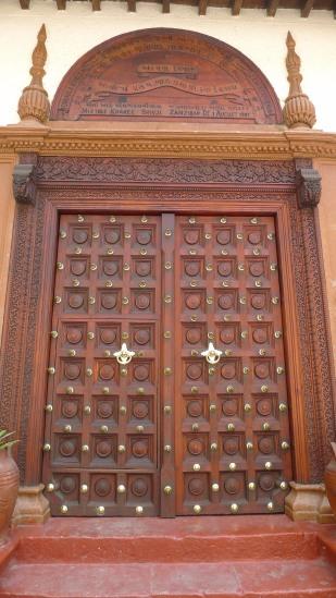 The only Hindu temple in Zanzibar Stone Town | The Girl Next Door is Black