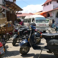 Motobikes are a popular form of transport