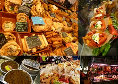 More scenes from La Boqueria market in Barcelona. I ate more anchovies in a little over a week in Spain than I think I have in my whole life. They were pretty good too!