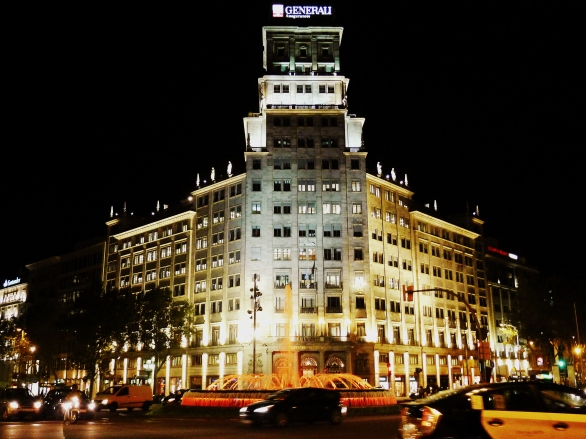 Generali Seguros building in the Eixample district of Barcelona. The architect was a Gaudi disciple.