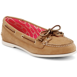 Sperry Top-Sider Audrey . Very comfortable, versatile, do not recommend for walking long distance due to limited ankle support.