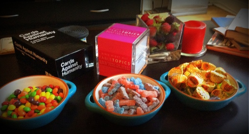 """Games and candy """"tapas"""""""
