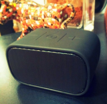 This UE Mini Boom speaker is one of my best purchases in recent history. Love it!  Great for us during a Girls' Night In. See more on The Girl Next Door is Black