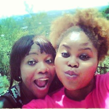 Sister selfie at Mt. Bonnell in Austin