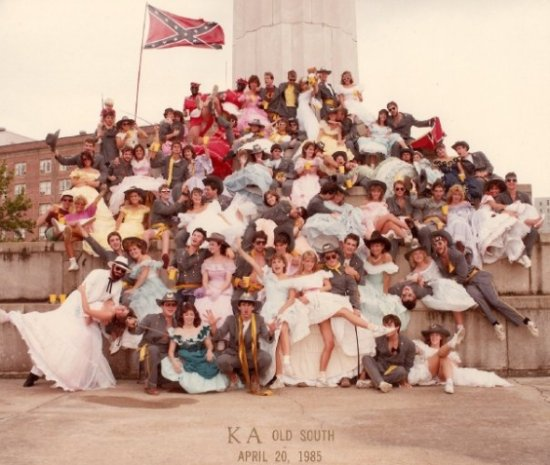 Kappa Alpha, Old South Party, 1985 Photo cr: ka-psi.org